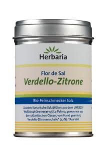 Verdello-Zitrone Herbaria Feinschmecker Salz