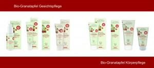Logoana Bio-Granatapfel & Q10 Produkte